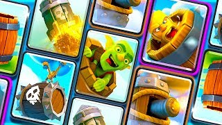 """""""THE BARREL DECK"""" CLASH ROYALE + """"IDLE TUBER EMPIRE"""" NEW GAME INFO!"""