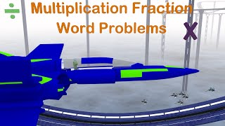 Multiplying Fractions Word Problems - 4th Grade Mage Math
