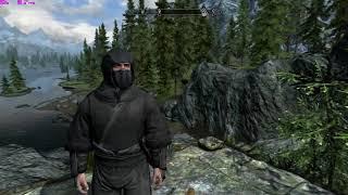Ninja Skyrim Mod by Romulo Machado