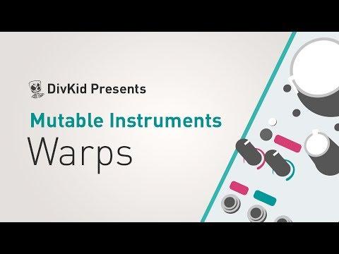 MUTABLE-INSTRUMENTS Warps Eurorack modul