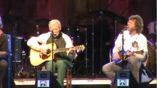 Doc Watson - His last Merlefest- Deep River Blues- Merlefest 2012.mpg