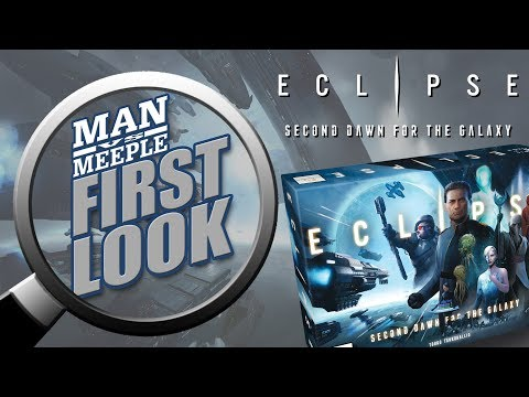 Eclipse: Second Dawn for the Galaxy First Look by Man Vs Meeple