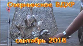 Ловля на озернинском водохранилище путевка