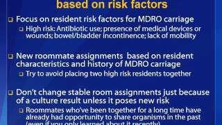 Webinar – Preventing and Managing MDROs and C.difficile in Nursing Homes