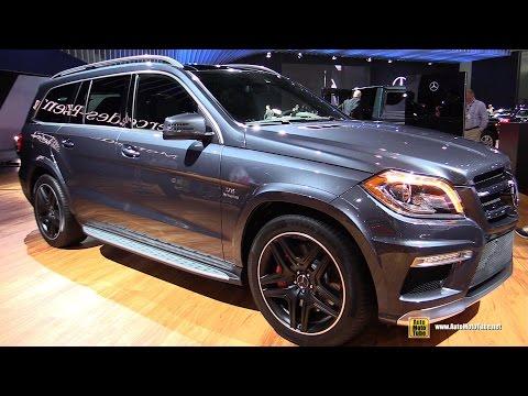 2015 Mercedes-Benz GL-Class GL63 AMG - Exterior and Interior Walkaround - 2014 LA Auto Show