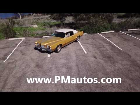 Video of 1972 Pontiac Grand Prix located in SAN DIEGO  California - $20,900.00 Offered by Precious Metals - PGU5