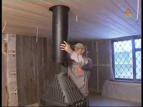 Настенный комплект дымохода Schiedel Permeter - внутр. Ø 200 мм (видео)