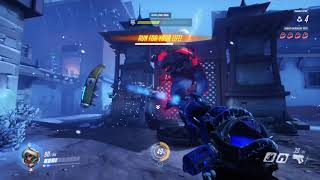 Overwatch - Hunter Gameplay