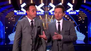 Ant and Dec...  Anything for love
