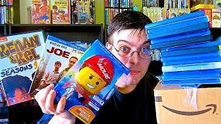 My Blu-Ray Collection Update 6/6/14 Blu ray and Dvd Movie Reviews