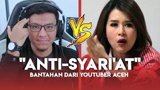 GRACE NATALIE DIBANTAH OLEH YOUTUBER ACEH INI!! Penolakan Perda Syari'at Islam