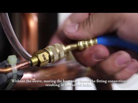 Węże serwisowe do klimatyzacji BLACK DIAMOND z zaworkami - zdjęcie