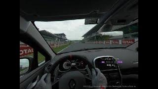 Gran Turismo™SPORT Le Mans hot lap Renault Clio RS 220 2nd lap