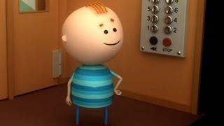 Аркадий Паровозов спешит на помощь - Если застрял лифт - Поучительные мультфильмы для детей