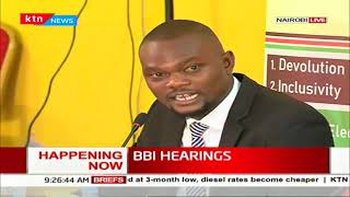 Kenyan university students appear before BBI team