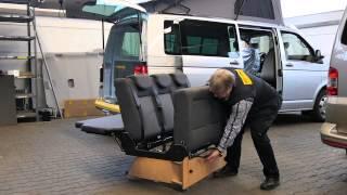 REIMO Sitz-/Schlafbänke für Campingbusse
