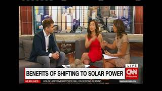 The Importance of Solar in the Philippines - Solar Joe PH on CNN New Day