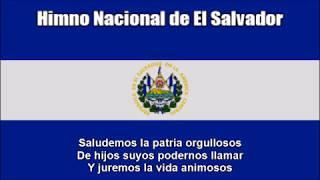 National Anthem of El Salvador (Himno Nacional de El Salvador) - With Lyrics