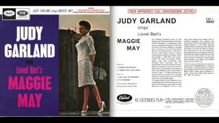 JUDY GARLAND SINGS from the score of MAGGIE MAY complete EP