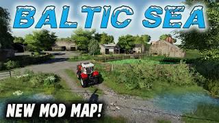 """BALTIC SEA"" NEW MOD MAP Farming Simulator 19 PS4 MAP TOUR (Review) FS19."