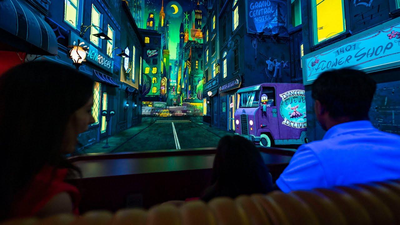 Ride aboard Mickey and Minnie's Runaway Railway