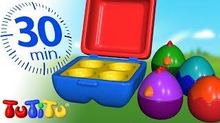 TuTiTu Deutsch   Spielzeug für Kleinkinder    Matroschka   Zusammenstellung