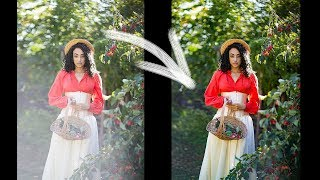 How I Remove A Lens Flare In Photoshop And Lightroom, Tutorial
