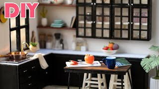 DIY Dollhouse Miniature Kitchen MAKEOVER