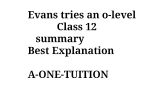 evans tries an o level class 12 animation in hindi - TH-Clip