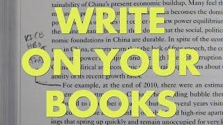 Write On Your Books (AKA Marginalia)
