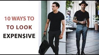 10 Simple Ways To Make You Look Expensive - Mens Style Hacks