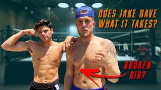 Helping @Jake Paul get ready for his next fight | Ryan Garcia Vlogs