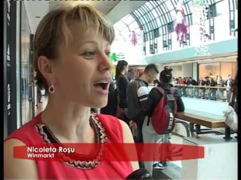 Prezentare de modă la Winmarkt!