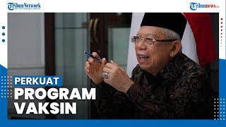 Ma'ruf Amin sebut Pemerintah Targetkan 1 Juta Vaksinasi per Hari