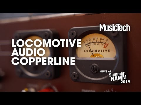 Give your mics a new sound with Locomotive Audio's Copperline #SummerNAMM2019