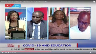 Front Row: COVID-19 and Education, a discussion with Key stakeholders | Part 2