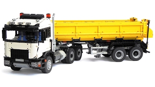 LEGO Technic 6x6 Truck with Tipper Semi Trailer