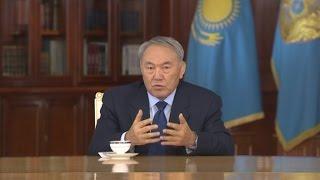 Встреча Нурсултана Назарбаева с журналистами. Полная версия