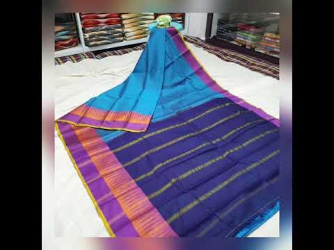 Narayana pet gas mercerised cotton sarees