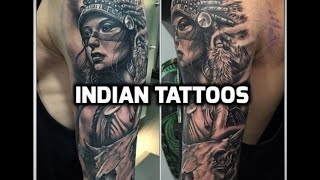 Indian Tattoos - Best Indian Tattoo Designs