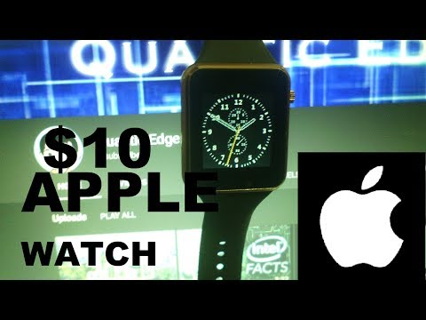 $10 Apple Watch Clone! (Fake) Smartwatch??HOW BAD COULD IT BE???