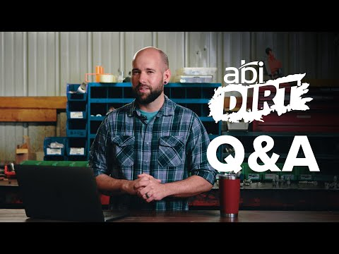 ABI Dirt – Answering Your Questions!