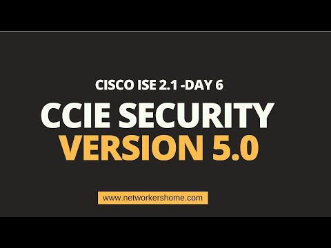 CCIE Security Training -Cisco ISE -Day 6 - YouTube