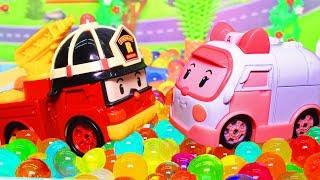 Мультфильмы с игрушками. Робокар Поли и его друзья – Спасение Микки. Видео для детей.