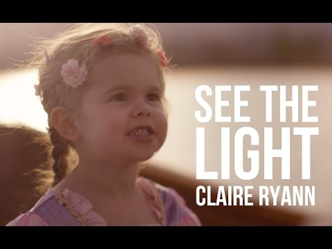 Watch This Cute Little Girl Singing 'See the Light'