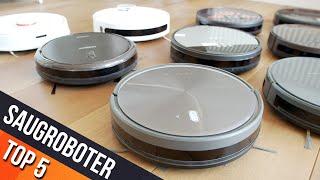 SAUGROBOTER TEST | TOP 5 Staubsauger Roboter unter 200€ ► Testbericht günstiger Saugrobter !
