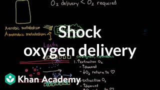 Shock - oxygen delivery and metabolism | Circulatory System and Disease | NCLEX-RN | Khan Academy