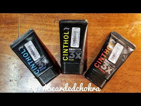 CINTHOL Deo Stick For Men Review