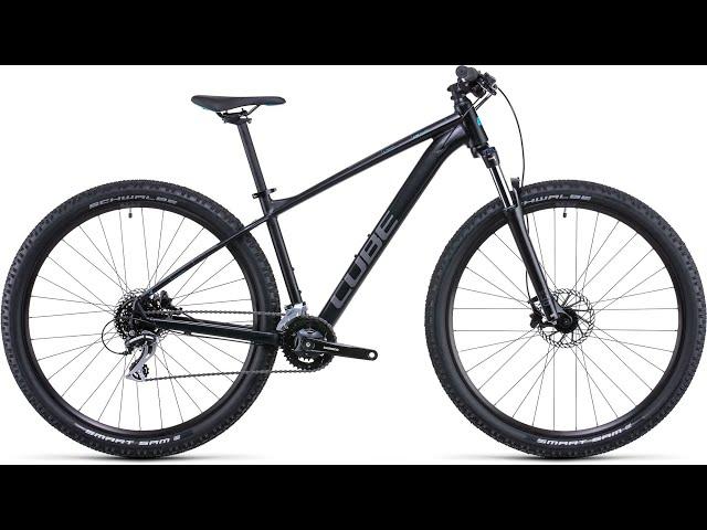 Видео Велосипед Cube Aim Race (Silver'n'Orange)