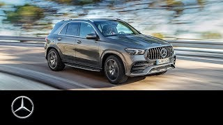 YouTube Video iRkO6cCMSss for Product Mercedes-Benz GLE-Class & GLE Coupe Crossover SUV (4th gen, W167) by Company Mercedes-Benz in Industry Cars